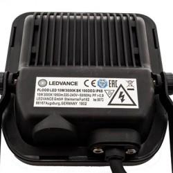 10W LED Fluter SMD IP65 OSRAM LEDVANCE Schwarz Warmweiß OS7360