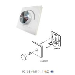 RADIOFUNK LED DIMMER KABELLOS 1Zone 1x8A PREMIUM 3 Jahre Garantie SR2805RW