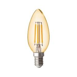 4W LED FILAMENT E14 KERZE DIMMBAR PREMIUM NEUTRAL-, WARMWEIß GL1403