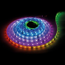 DIGITAL LED STREIFE 60SMD/m RGB Programmierbar WS2812B 1m WS2812B