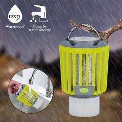 3W OSRAM LED AKKU Lampe Insekten-Schutz Camping-Laterne GL5314