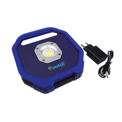 20W LED Akku Scheinwerfer Wiederaufladbar PRO Blau COB Kaltweiß GL5238