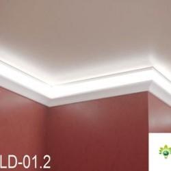 Zierprofil 1M für LED Beleuchtung LD01.2