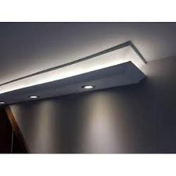 Zierprofil 1M für LED Beleuchtung Stuckleiste LD07