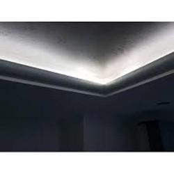 Zierprofil 1M für LED Beleuchtung Stuckleiste LD04