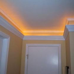 Zierprofil 1M für LED Beleuchtung Stuckleiste LD05