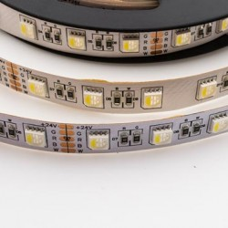 60SMD/m RGBW LED Streifen 24V All in One DIODE PREMIUM 3 Jahre Garantie 1m  GL4305