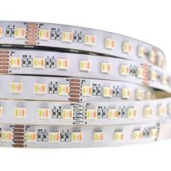 24W/m RGB CCT LED Streife 60 WRGBWW SMDs/m 24V DC 1m PRO AIO Diode GL4309
