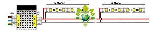 Schaltplan LED Streifen