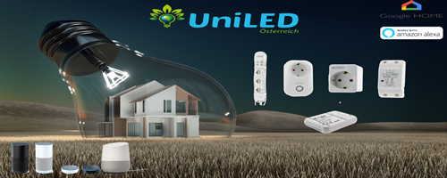 led smart home lösungen von UniLED Austria